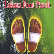 4 Takara Foot Patches - Single Use While You Sleep